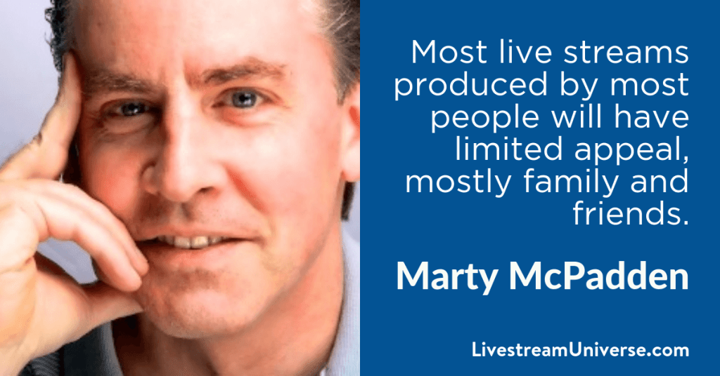 Marty McPadden 2017 prediction livestream universe
