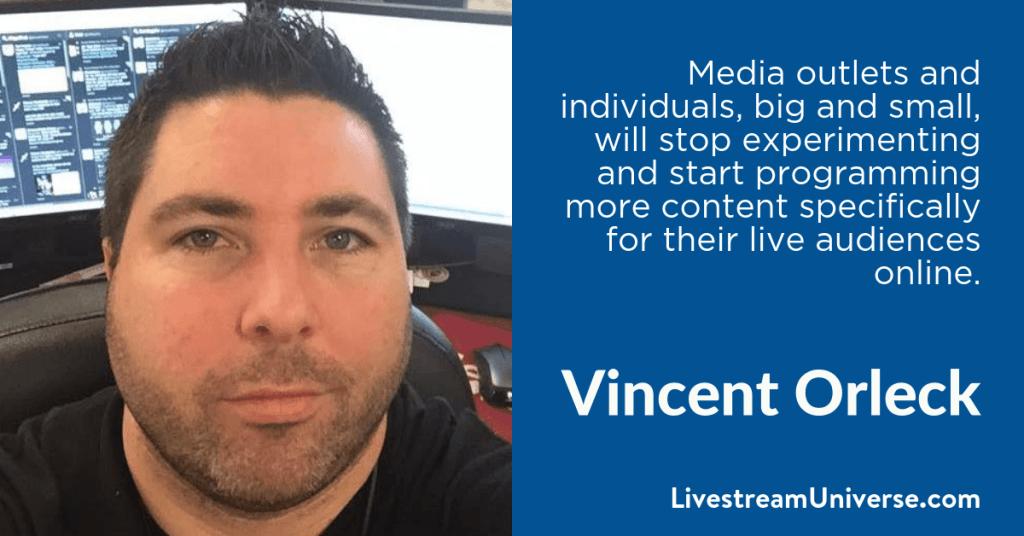 Vincent Orleck 2017 Prediction Livestream Universe