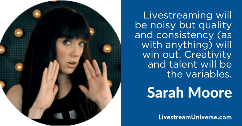 Sarah Moore 2017 Prediction Livestream Universe