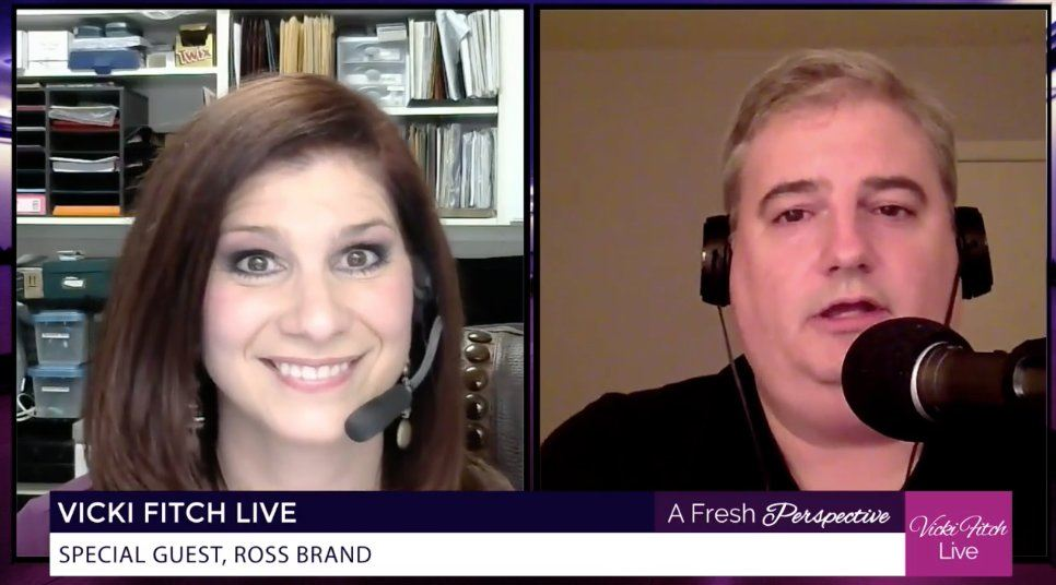 Ross Brand Vicki Fitch Live Livestream Universe