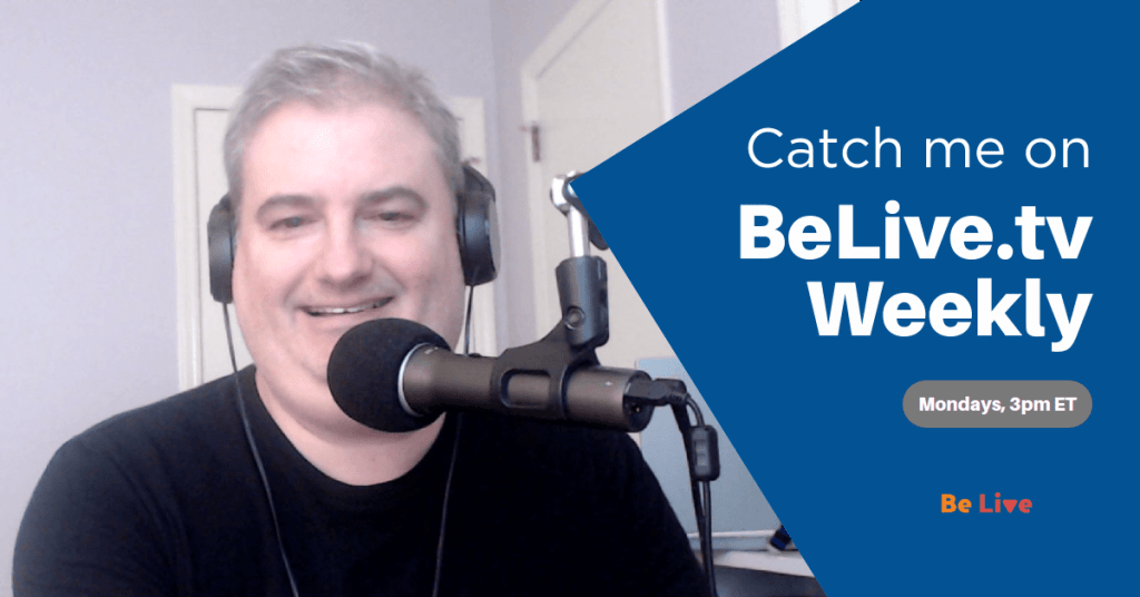 Ross Brand on BeLIve.tv Weekly