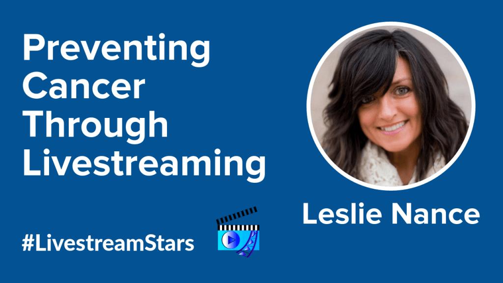 Leslie Nance Livestream Universe Stars