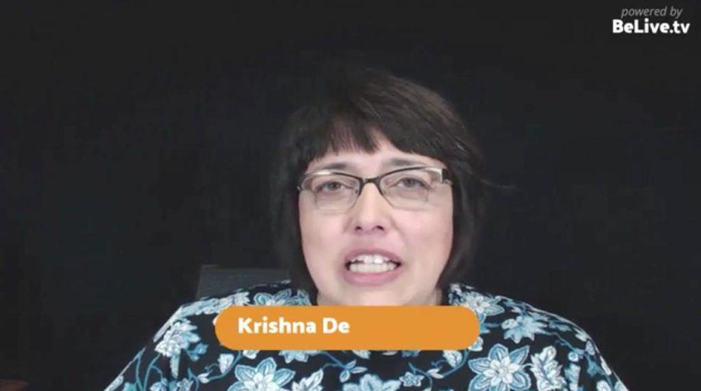 Krishna De Livestream Universe Stars