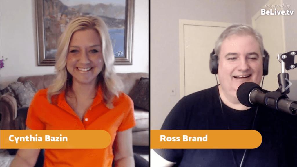 Cynthia Bazin SmartChic Ross Brand Livestream Universe Stars