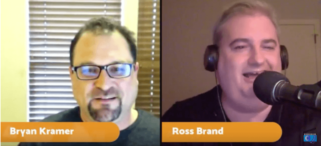 Bryan Kramer Ross Brand Livestream Universe Stars