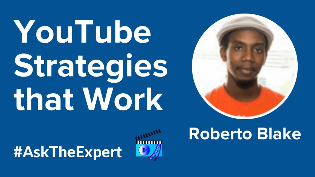 Roberto Blake Livestream Universe Ask The Expert