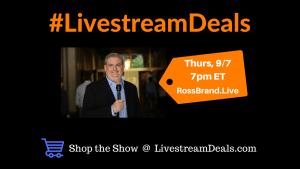 #LIvestreamDeals Ross Brand