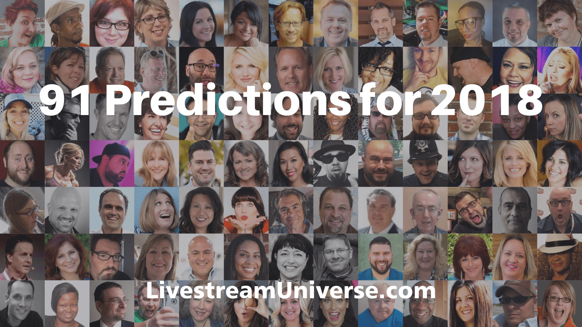 91 Livestreaming Predictions for 2018