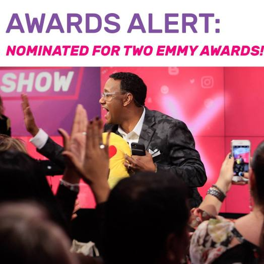 Mario Armstrong Never Settle Show Emmy