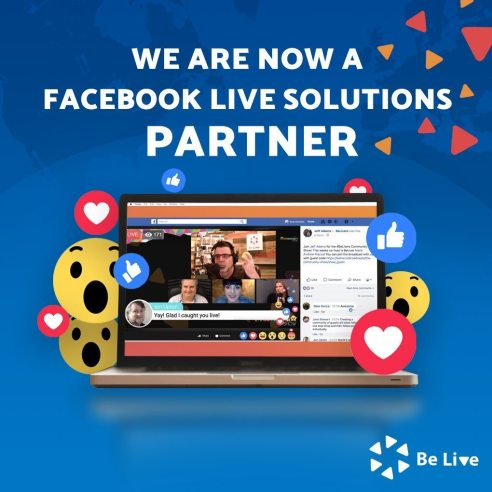 BeLive Facebook Live Video Solutions Partner