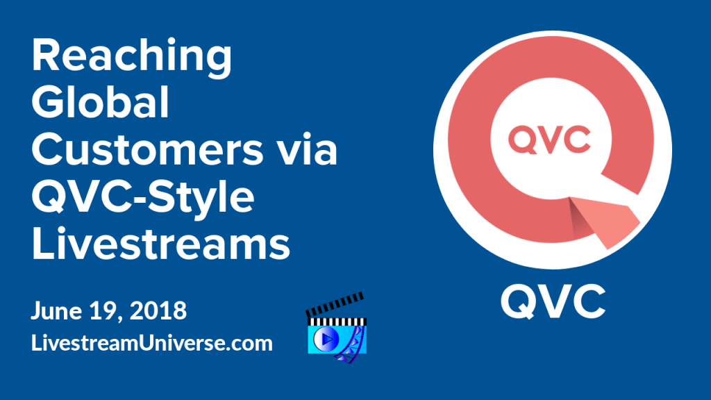 qvc-style livestreaming