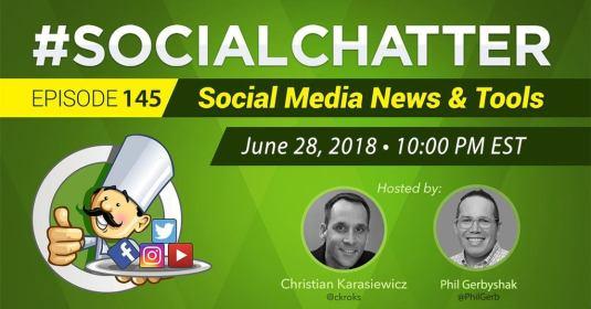 Social Chatter Ross Brand guest