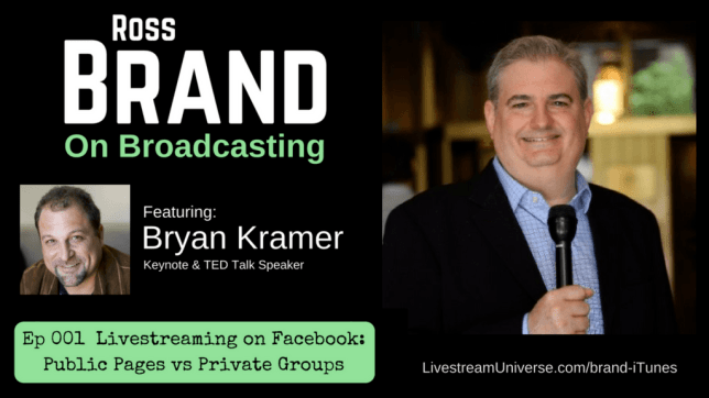 Brand on Broadcasting Bryan Kramer