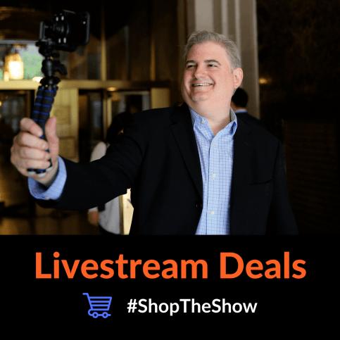 Livestream Deals Podcast Ross Brand