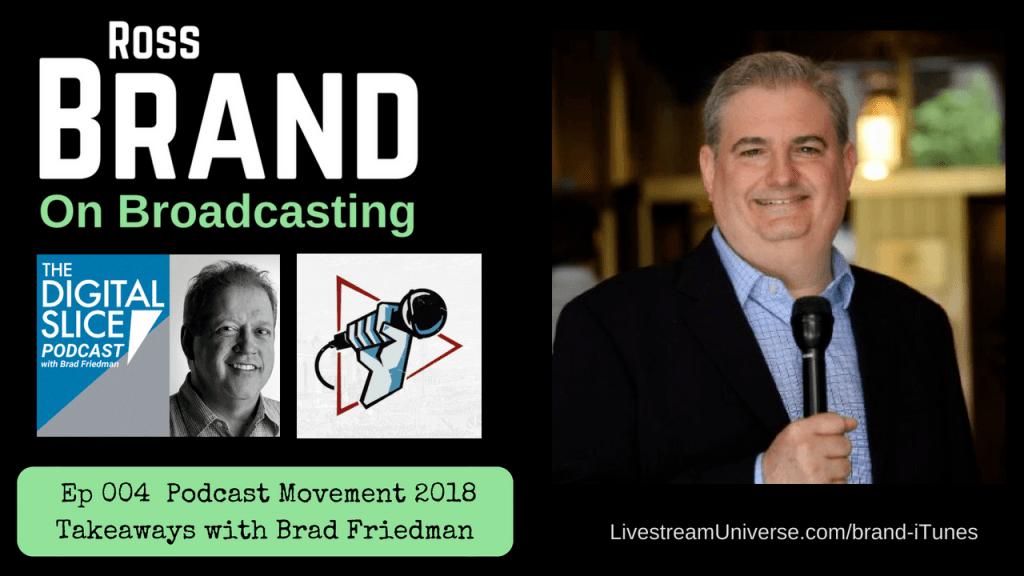 Ep 004 Brad Friedman Podcast Movement
