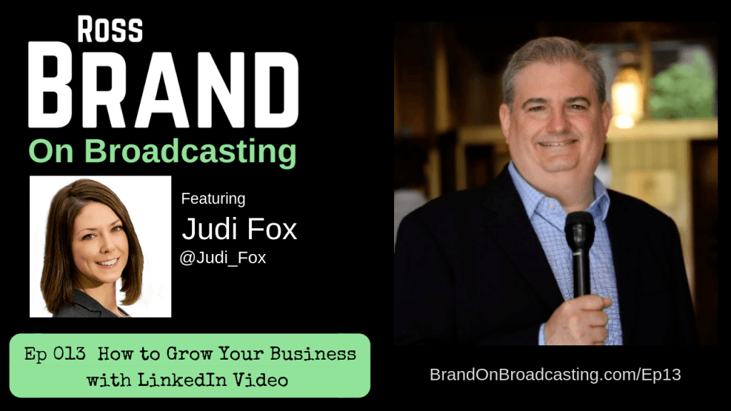 Judi Fox LinkedIn Video Livestream Universe Deals