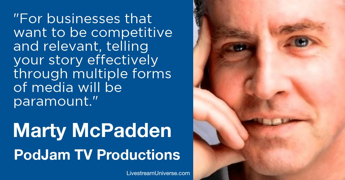 Marty McPadden PodJam Livestream Universe Predictions 2020