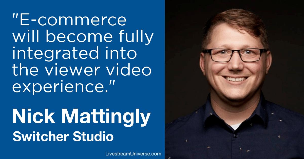Nick Mattingly Switcher Studio Livestream Universe Predictions 2020