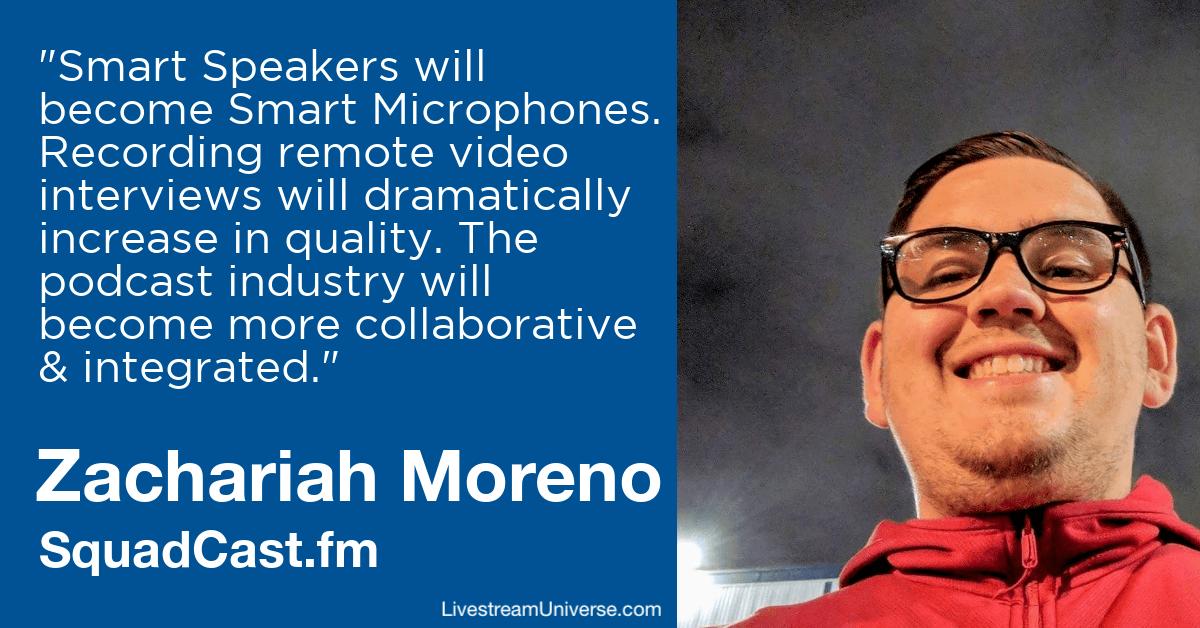 Zachariah Moreno squadcast livestream universe predictions 2020