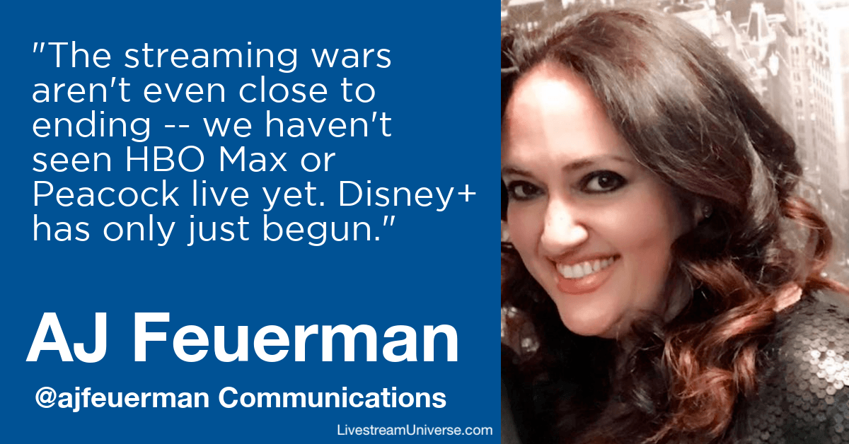 aj feuerman communications livestream universe predictions 2020