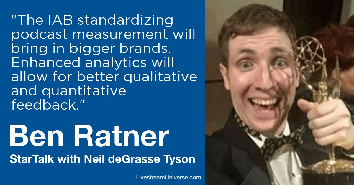 ben ratner StarTalk livestream universe predictions 2020 EM