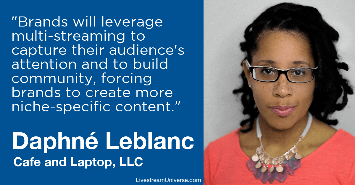 daphne leblanc livestream universe predictions 2020