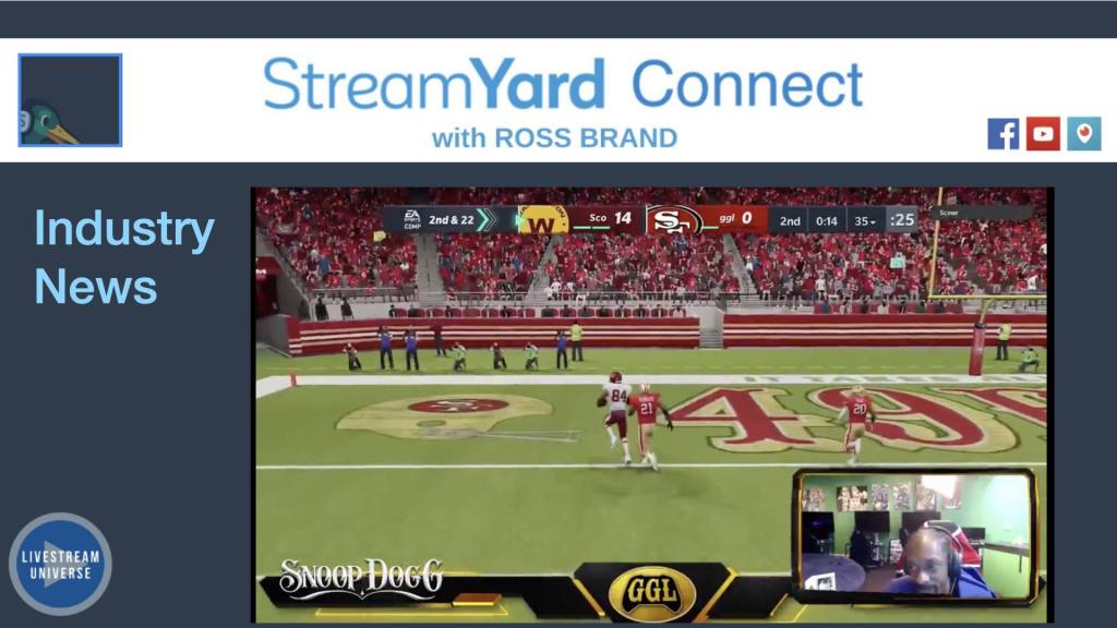 streamyard connect snoop dogg rage quits Madden live stream Twitch