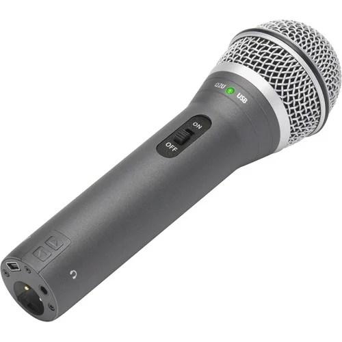 Samson Q2u Microphone USB XLR