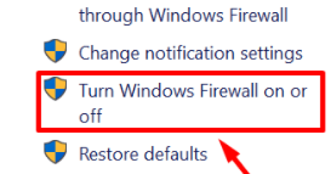 Firewall window