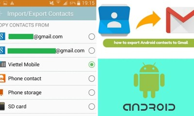How to Import and Export Android Contacts to Gmail Account