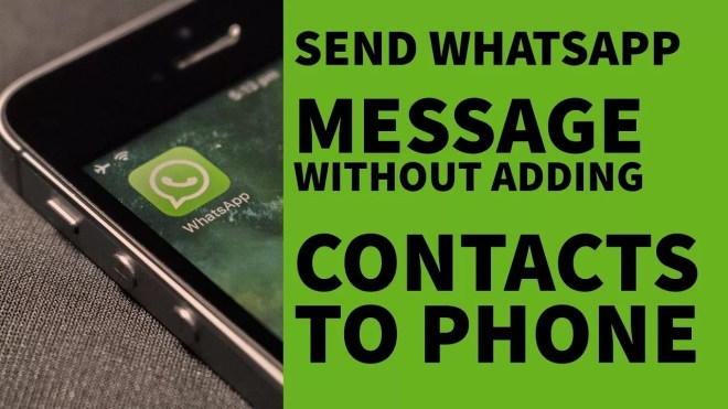 Send Whatsapp Messages To Non-Contacts