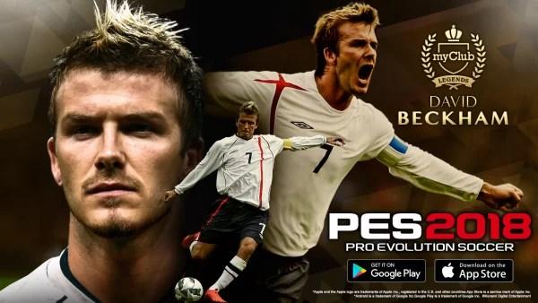Download Pro Evolution Soccer 2018 (PES 18) Beckham Edition