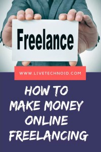 How to make Money Online Freelancing