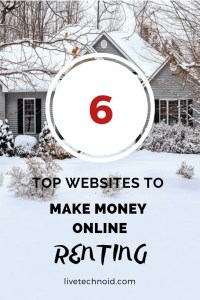6 Top Websites to Make Money Online by Renting