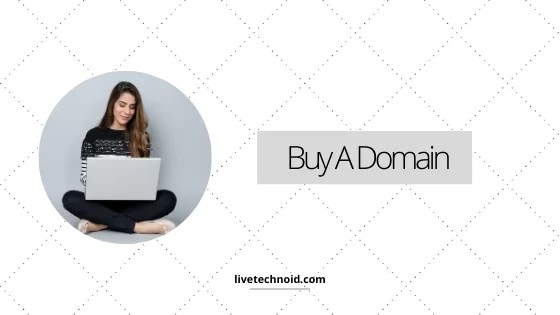 Buy a domain