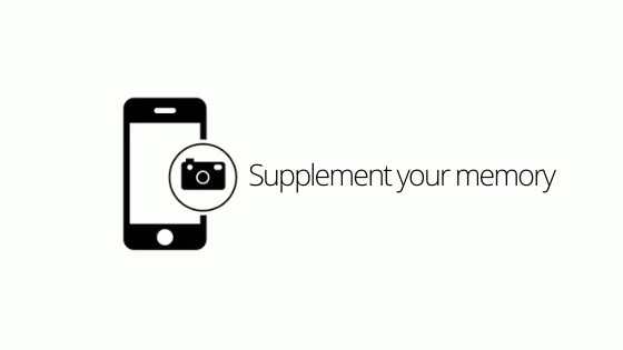 Supplement your memory
