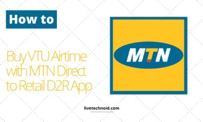 How to Buy VTU Airtime with MTN Direct to Retail D2R App
