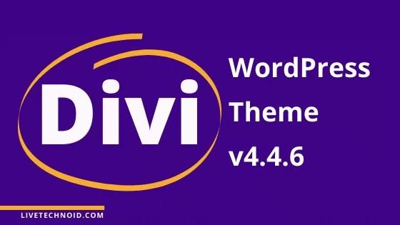 Divi WordPress Theme v4.4.6 Free Download