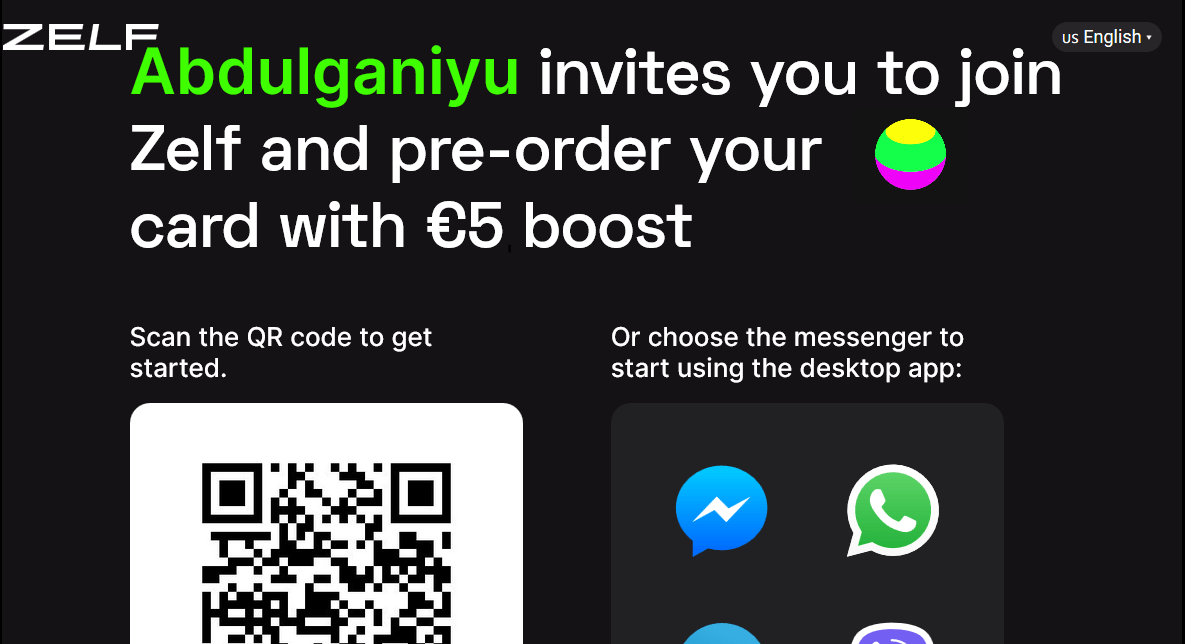 Invite Friends on ZELF and Earn €5 for Every Friend Referred