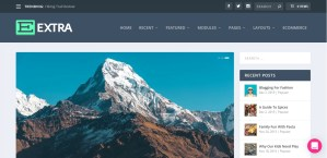 Latest Extra Premium WordPress Theme Free Download