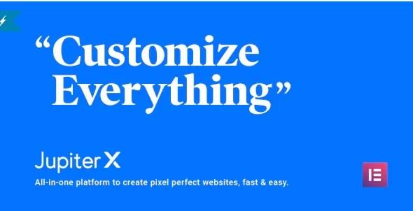 Jupiter X Premium v1.23.0 WordPress Theme Free Download