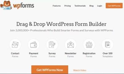 Latest WPForms Pro WordPress Form Builder Free Download