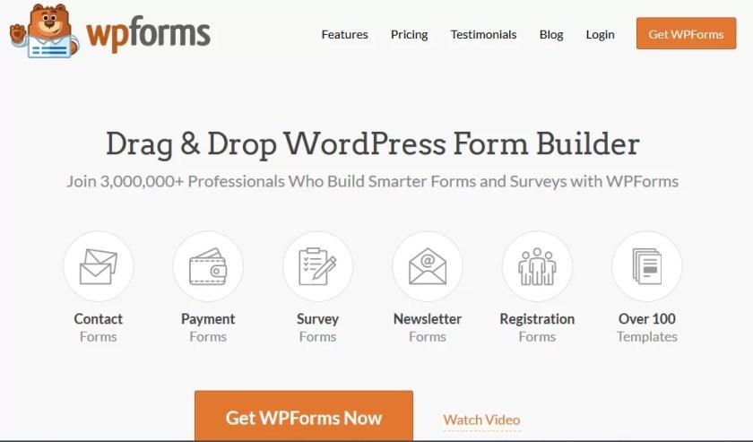 WPForms Pro v1.6.5.1 WordPress Form Builder Free Download