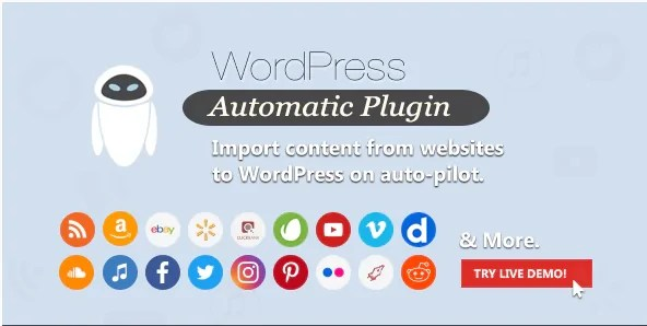 Latest WordPress Automatic Plugin Free Download