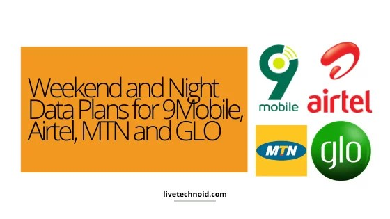 9Mobile, Airtel, MTN and, Glo