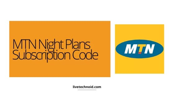 MTN Night Plans Subscription Code