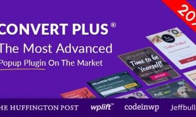 Download ConvertPlus v3.5.9 Premium WordPress Popup Plugin