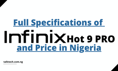 Full Specifications of Infinix Hot 9 Pro and Price in Nigeria