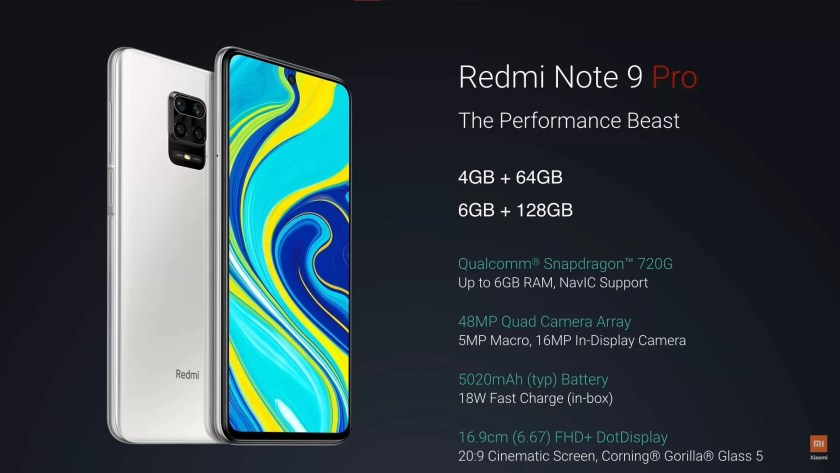 Full Specifications of Redmi Note 9 Pro Max and Price in Nigeria