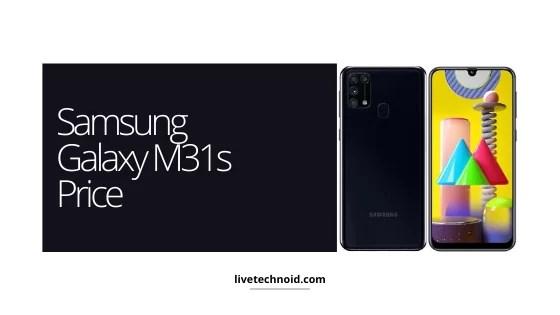Samsung Galaxy M31s Price
